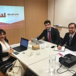 Eraikune se reunió con el cluster de construcción de Bogotá en su visita al País Vasco