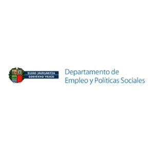 Departamento de Empleo y Políticas Sociales del Gobierno Vasco logo