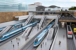 El soterramiento de la alta velocidad en Vitoria liberará 90.000 metros cuadrados de suelo