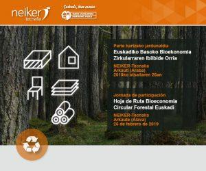 Jornadas de trabajo para definir la Hoja de ruta de la Bioeconomía forestal en Euskadi @ NEIKER-Tecnalia
