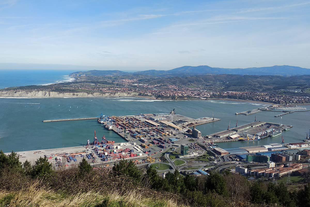 El tráfico del Puerto de Bilbao crece un 4% en 2018 hasta los 35,6 millones de toneladas