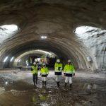 Concluye la excavación en avance de la futura estación de Bentaberri-Antiguo del Topo