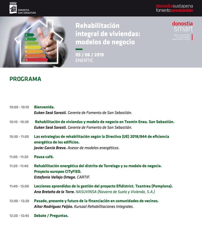 Jornada Rehabilitación integral de viviendas @ EnerTIC