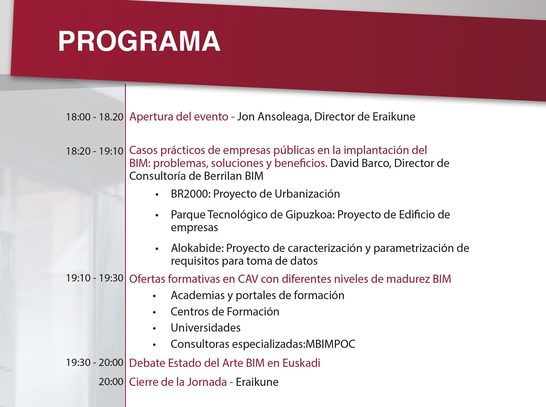 Estado del Arte BIM en Euskadi @ Auditorio del Edificio BBF
