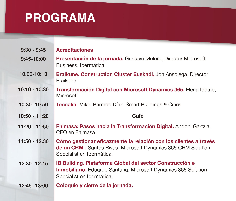 Construcción 4.0 - Transformación digital y retos del sector de la construcción e inmobiliario @ Auditorio BBF