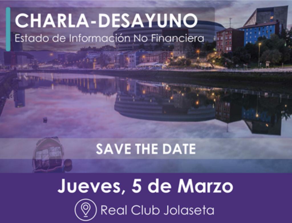 Charla sobre el Estado de Información No Financiera (EINF) @ Real Club Jolaseta
